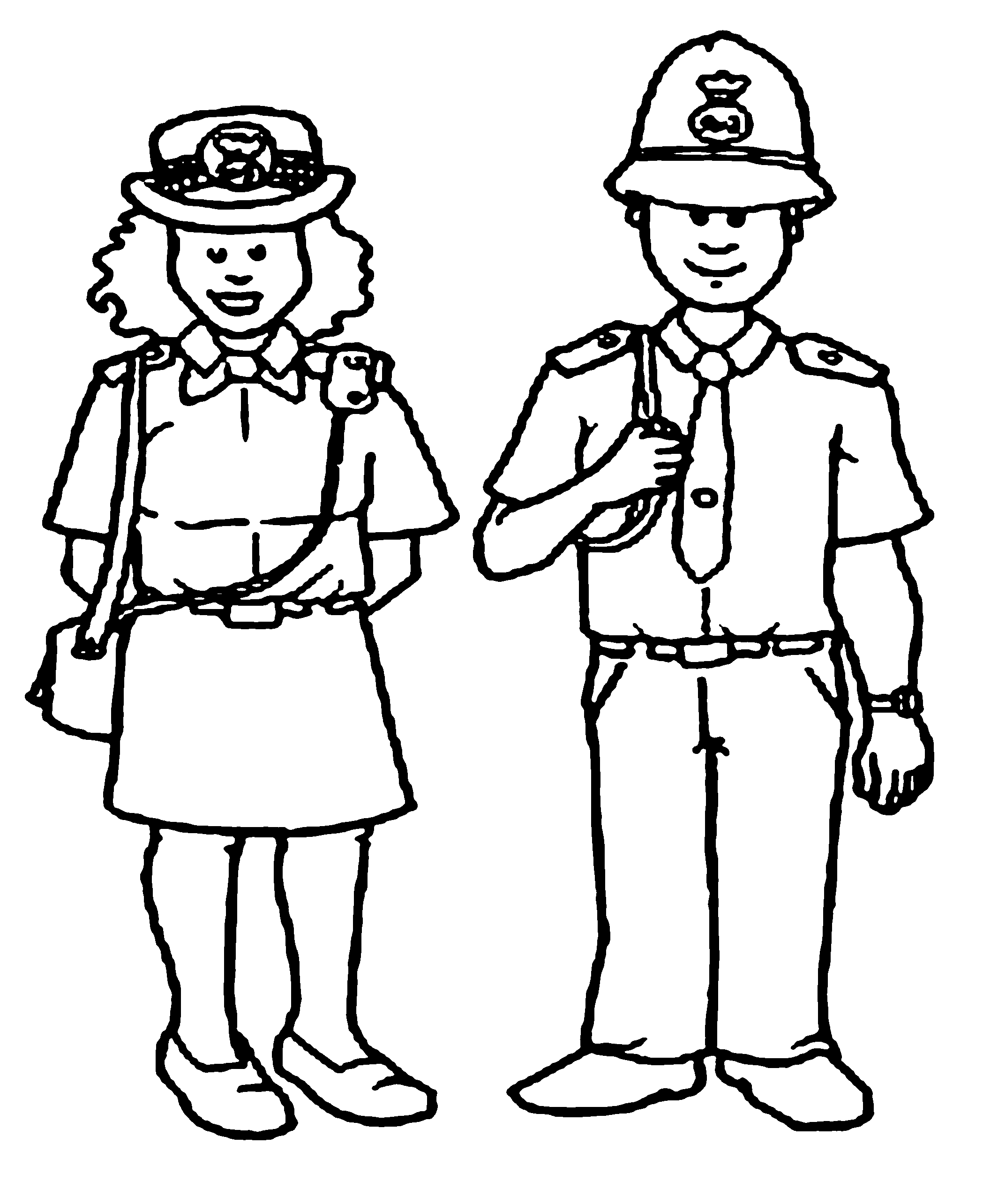 police officer coloring pictures police women and policeman coloring pages kids coloring police officer pictures coloring