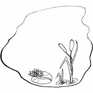 pond coloring pages pond coloring page pages pond coloring