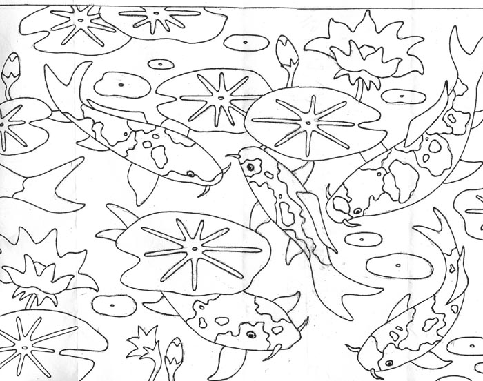 pond coloring pages rug patterns page 9 pages coloring pond