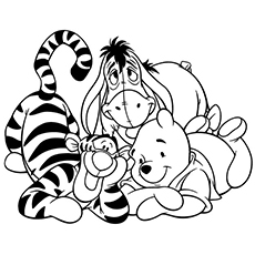 pooh bear coloring pictures baby pooh coloring pages 2 disneyclipscom pictures pooh coloring bear