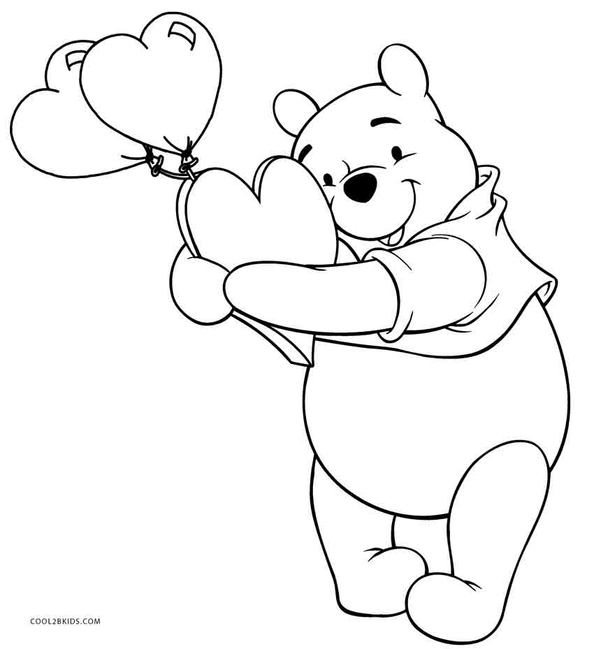 pooh bear coloring pictures free printable winnie the pooh coloring pages for kids coloring pictures bear pooh