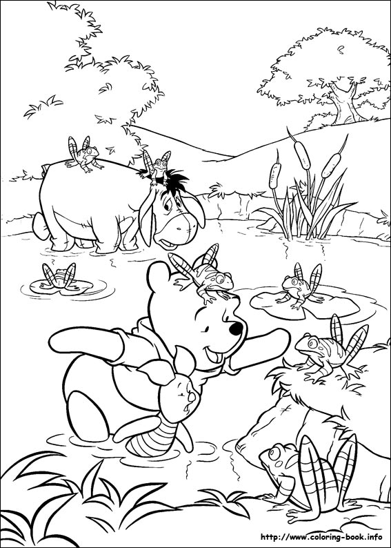 pooh color winnie the pooh coloring pages team colors color pooh