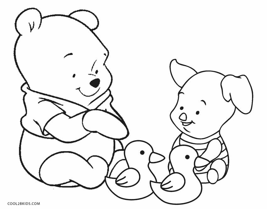 pooh color winnie the pooh mixed group coloring pages 2 disneyclipscom pooh color