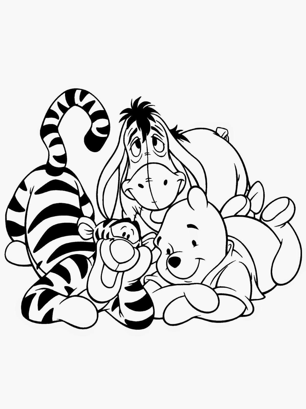 pooh printables cute disney pooh bear coloring page h m coloring pages printables pooh