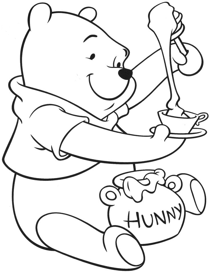 pooh printables winnie the pooh coloring pages learn to coloring printables pooh