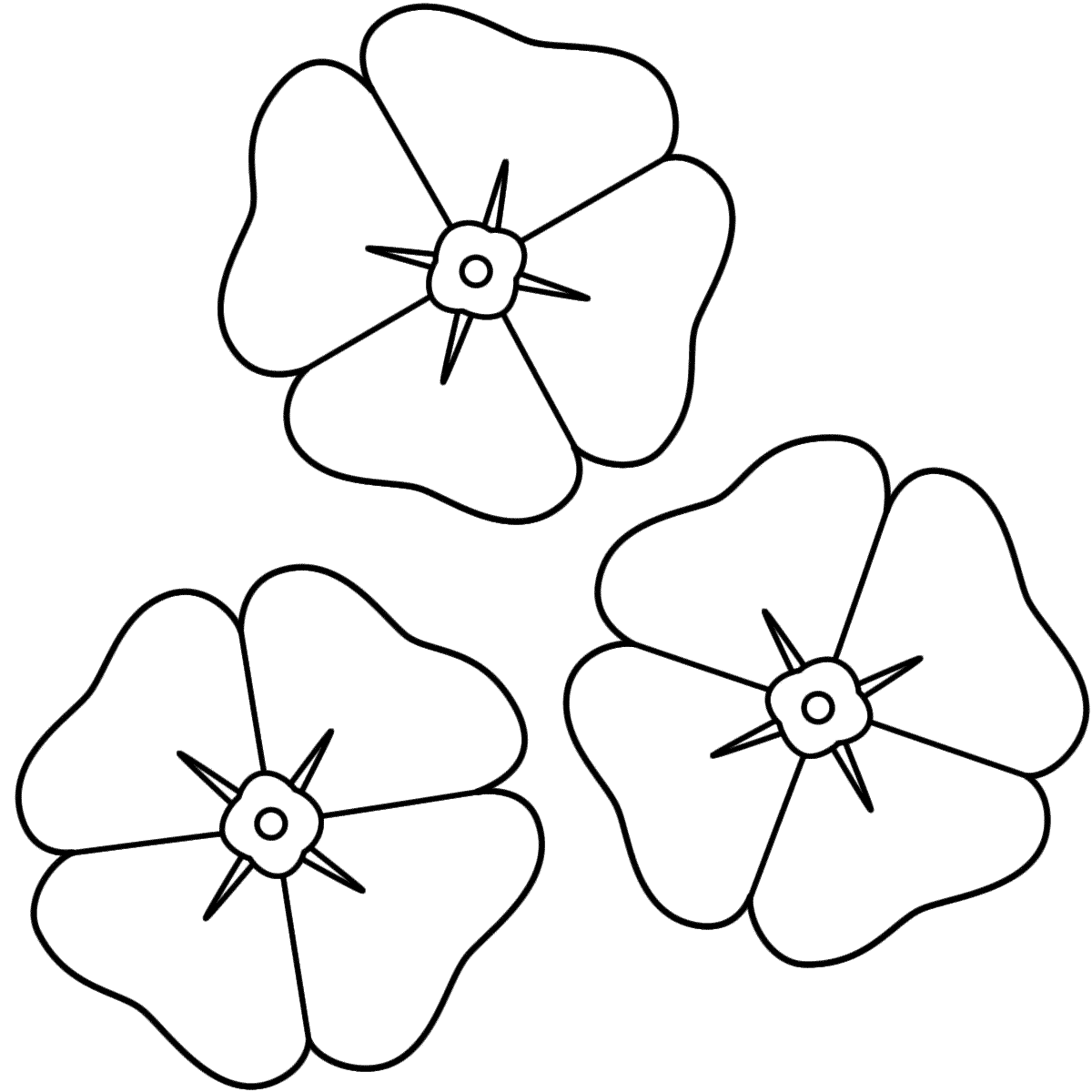 poppy coloring page 18 poppy coloring pages pdf jpg free premium templates poppy coloring page