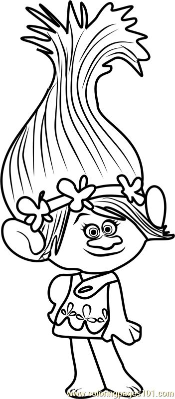poppy coloring page free printable flower coloring pages for kids best page coloring poppy
