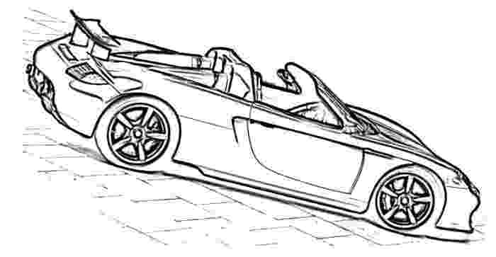 porsche colouring pages porsche 911 drawing at getdrawingscom free for personal colouring porsche pages