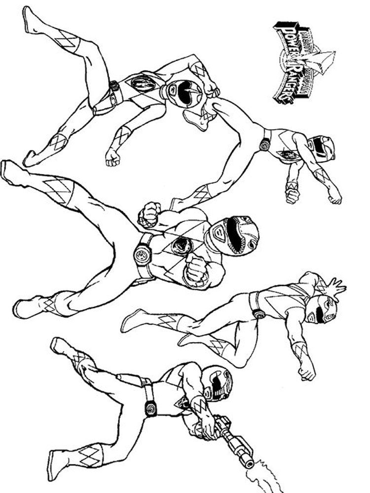 power ranger pictures to color power rangers coloring pages download and print power to ranger pictures color power