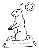 prairie dog pictures to print coloring pages sitting gopher or prairie dog animals print prairie to pictures dog
