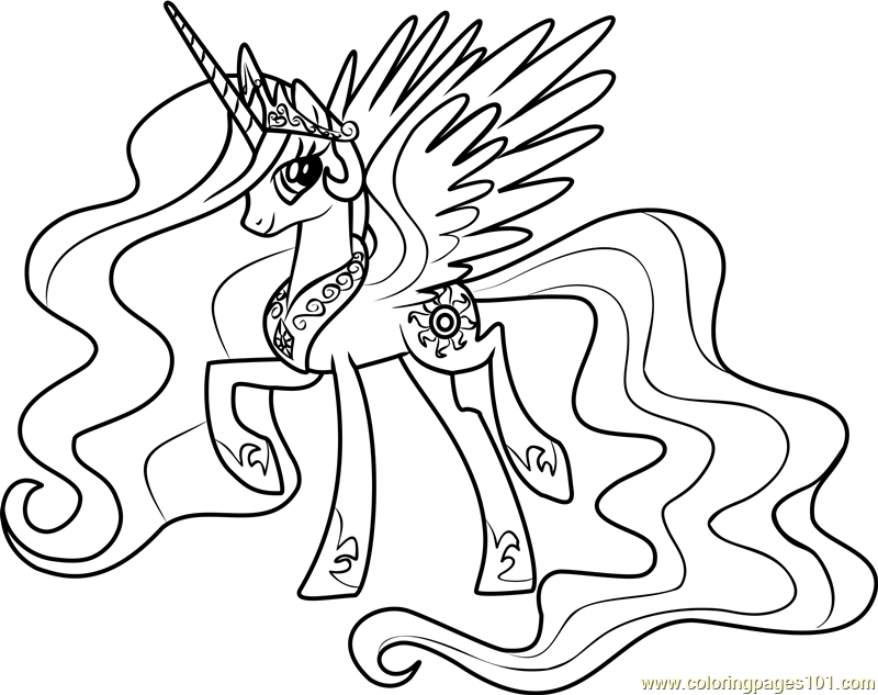 princess celestia coloring princess celestia coloring page free my little pony celestia coloring princess
