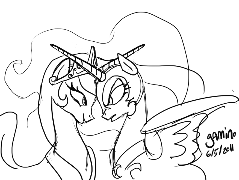 princess luna my little pony coloring pages princess luna at luna princess