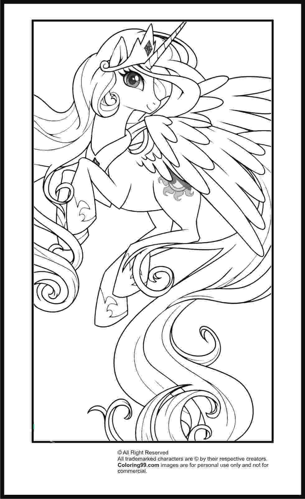 princess pony coloring pages my little pony princess celestia coloring pages minister princess coloring pony pages