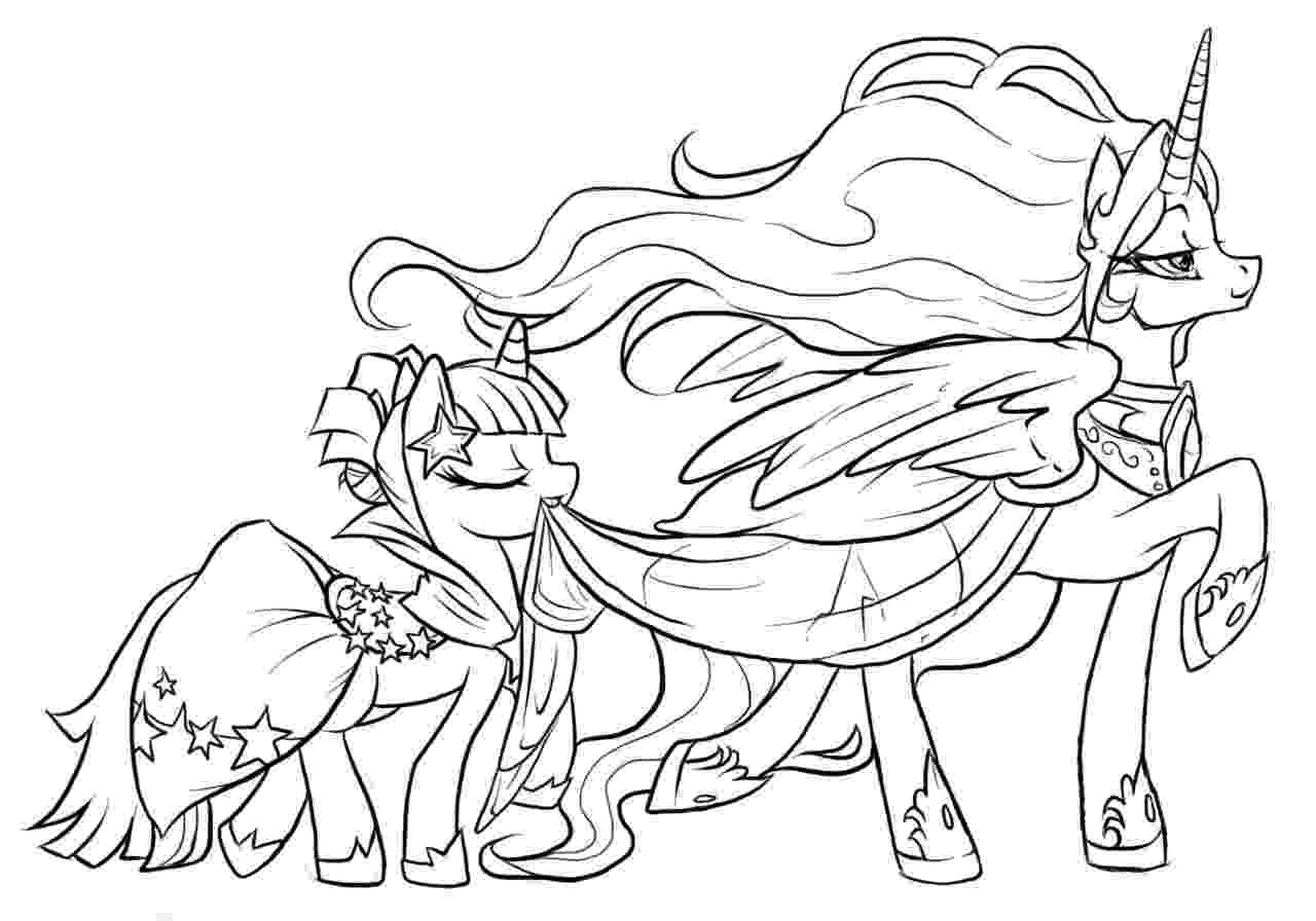 princess pony coloring pages twilight sparkle alicorn coloring pages at getcolorings coloring pony pages princess