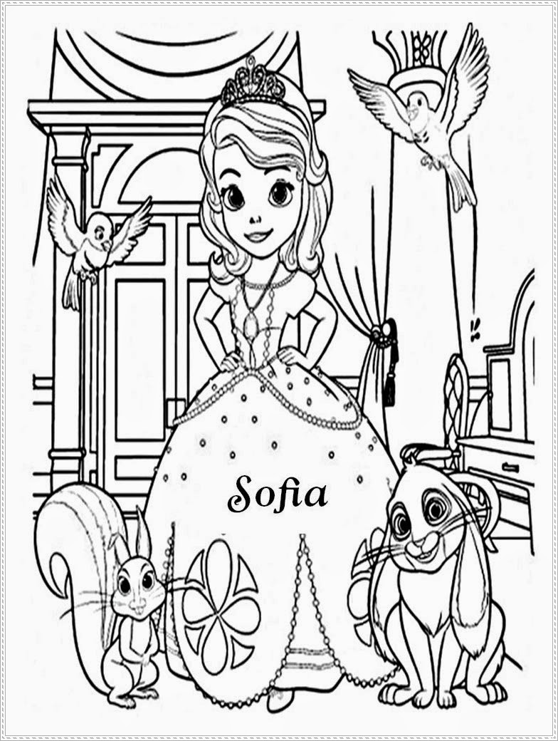 princess sofia the first coloring pages coloring pages of princess sofia coloring pages pages sofia first princess coloring the