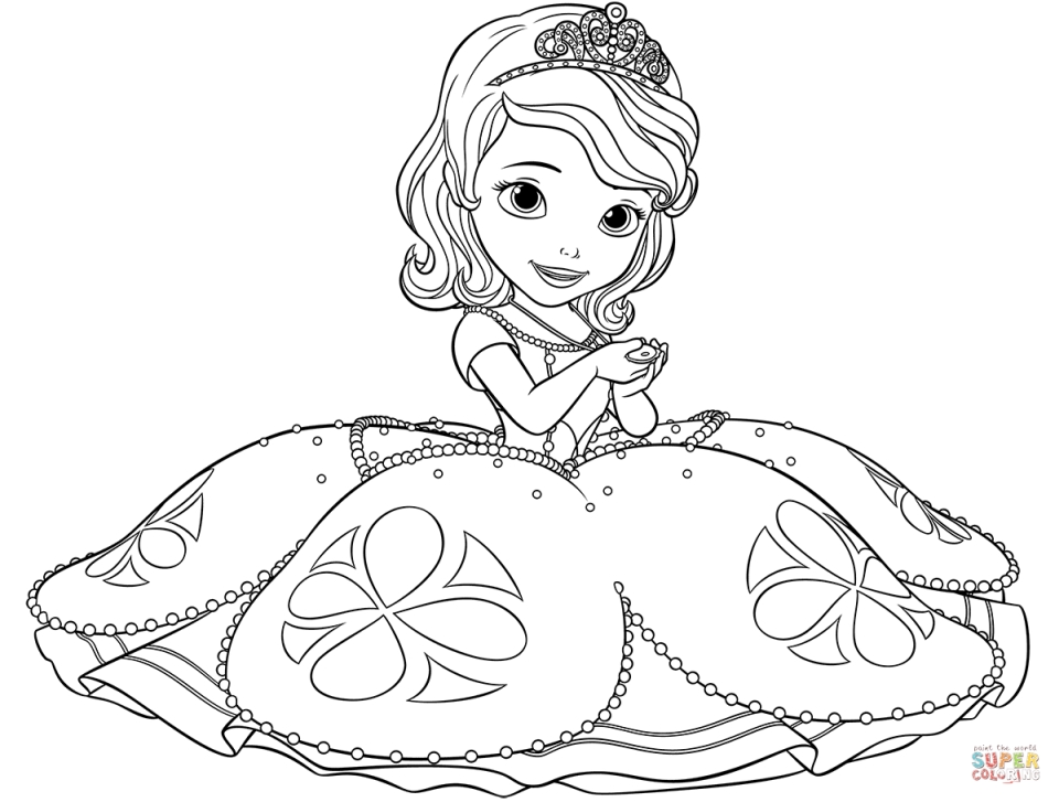 princess sofia the first coloring pages disney sofia the first coloring page h m coloring pages the pages princess sofia coloring first