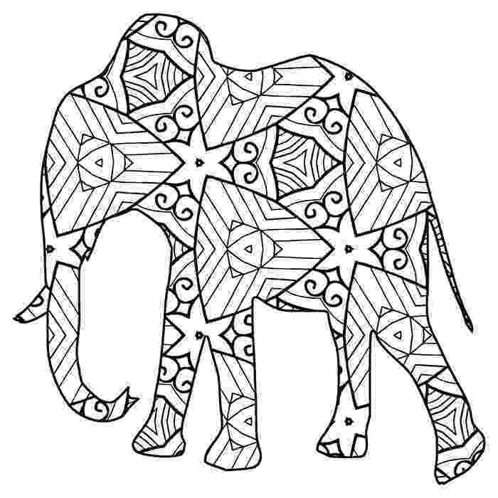 printable animal colouring books 30 free printable geometric animal coloring pages the colouring animal books printable