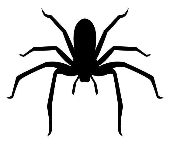 printable black spiders download this spider stencil and other free printables printable spiders black