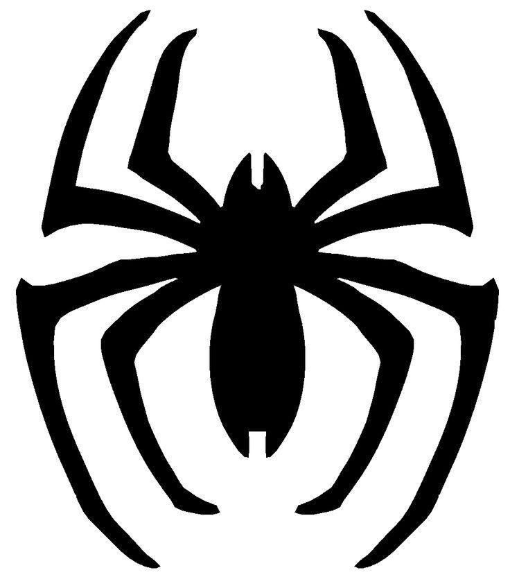printable black spiders spiderman logo spiderman printable logo cake templates jpg black printable spiders