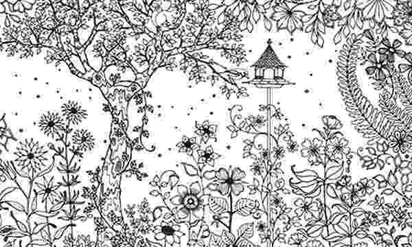 printable coloring book secret garden secret garden an inky treasure hunt and colouring book book coloring printable garden secret