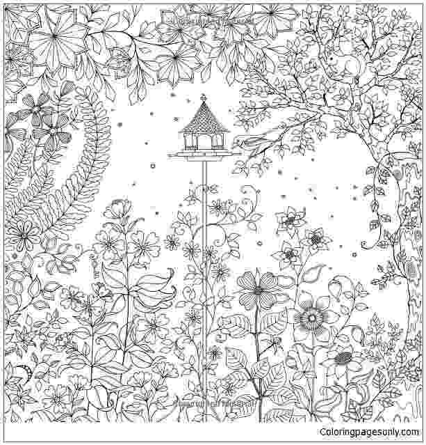 printable coloring book secret garden secret garden coloring page free coloring pages online printable garden secret coloring book
