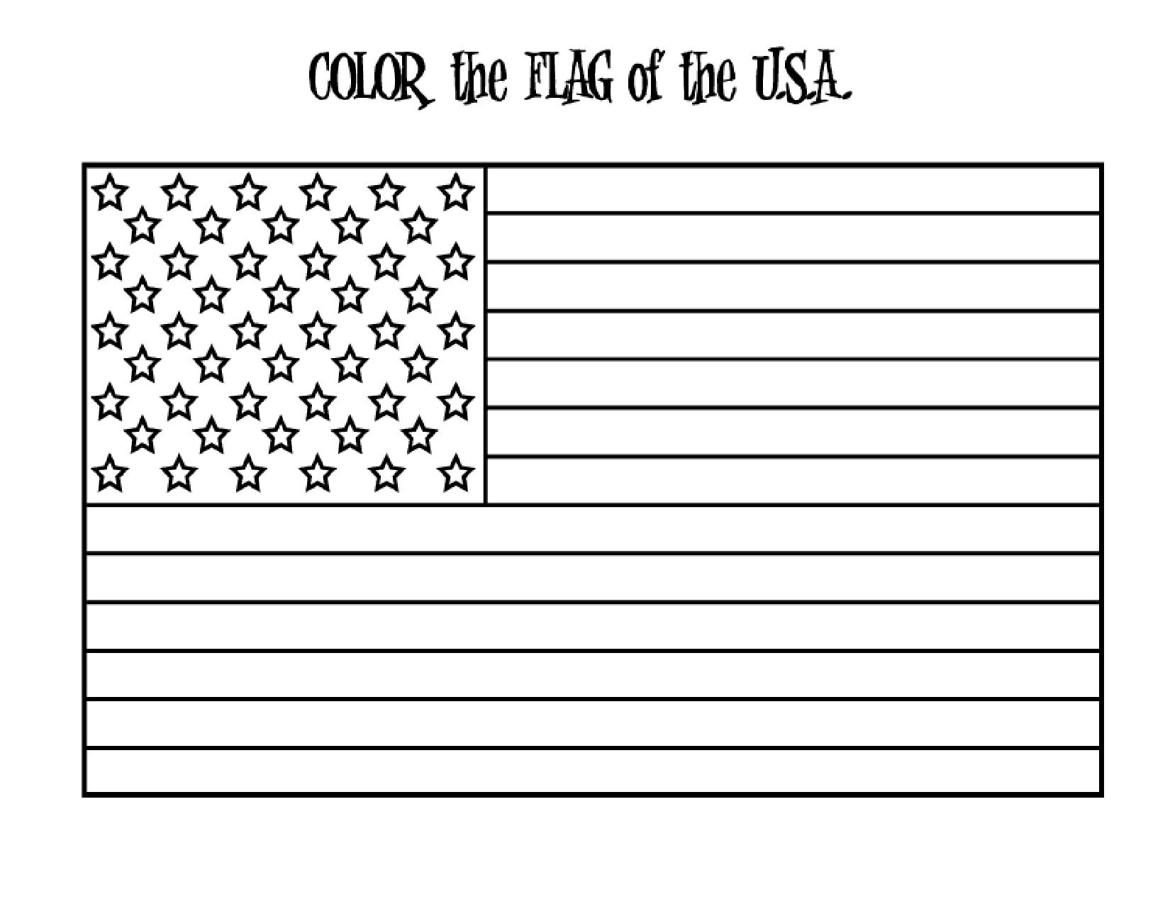 printable coloring flag usa american flag coloring sheet classroom printables for printable flag usa coloring