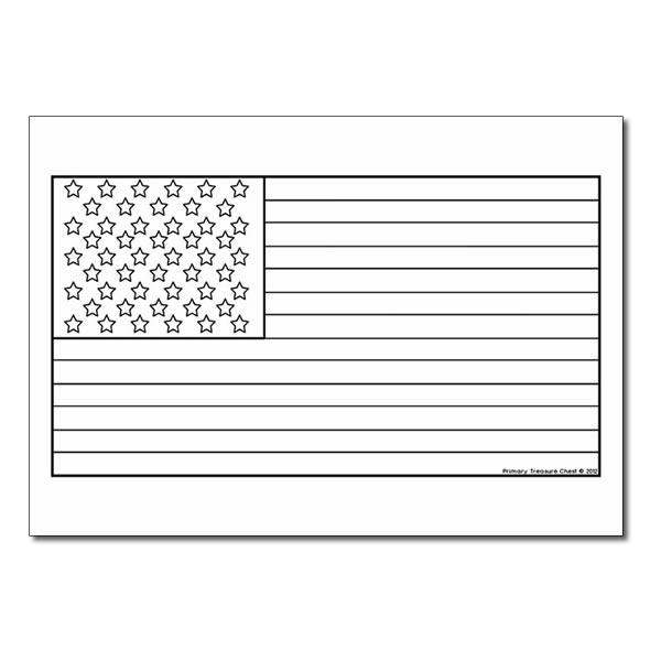 printable coloring flag usa blank usa flag template by tamara isaac teachers pay coloring printable usa flag