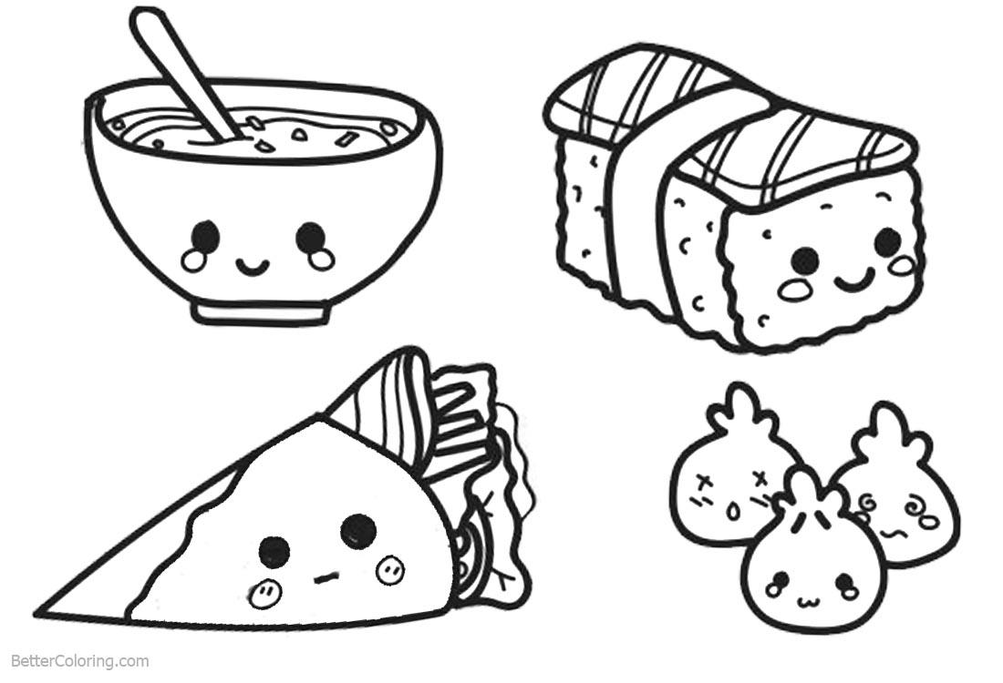 printable coloring food pages cute food coloring pages lineart free printable coloring pages coloring printable food