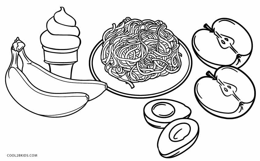 printable coloring food pages free printable food coloring pages for kids cool2bkids coloring pages food printable
