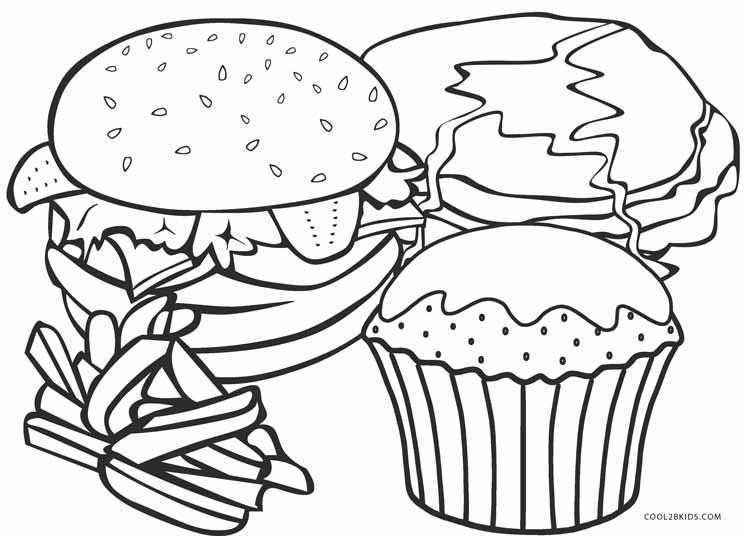 printable coloring food pages picnic food coloring page free printable coloring pages pages coloring printable food