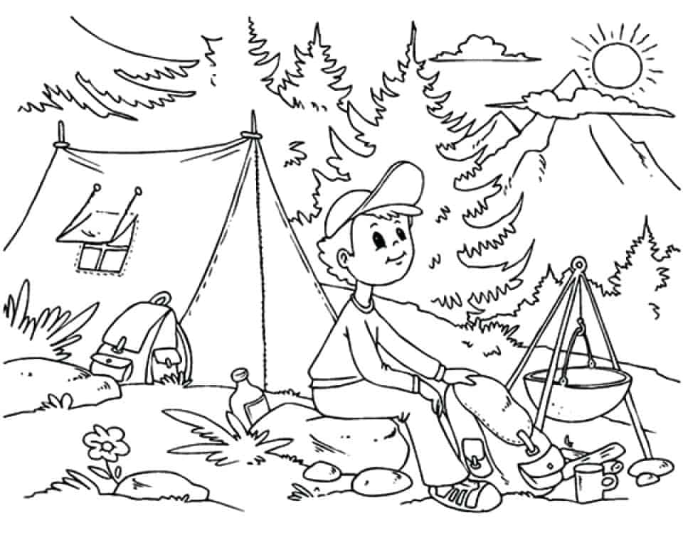 printable coloring pages camping camping coloring pages best coloring pages for kids camping pages coloring printable