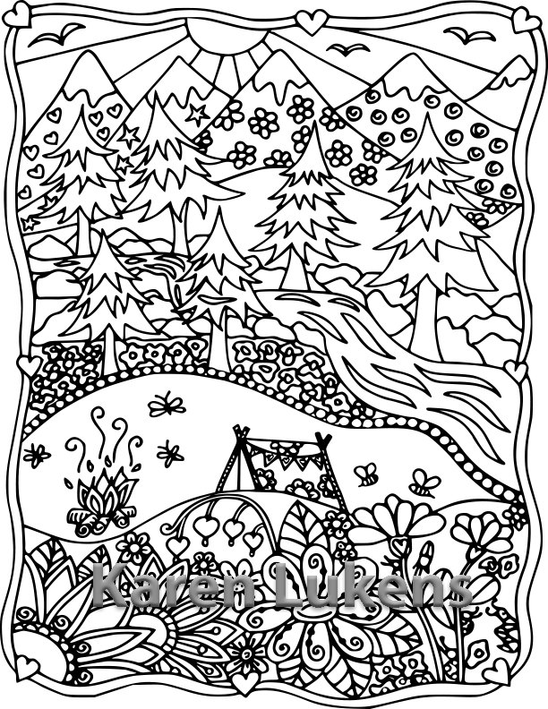 printable coloring pages camping printable coloring pages camping camping coloring pages printable