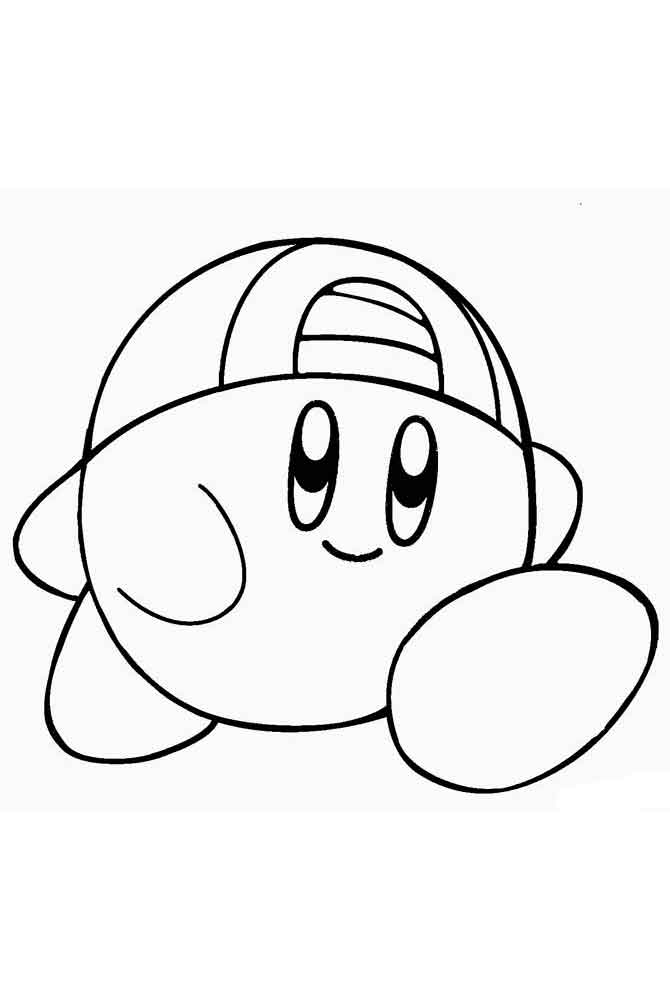 printable coloring pages kirby 20 free printable kirby coloring pages kirby pages coloring printable
