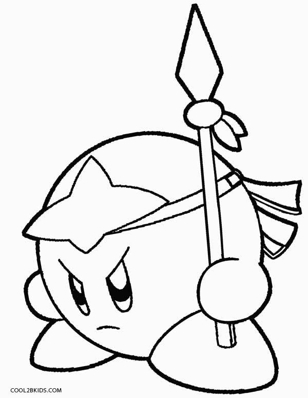 printable coloring pages kirby free printable kirby coloring pages for kids coloring printable pages kirby coloring
