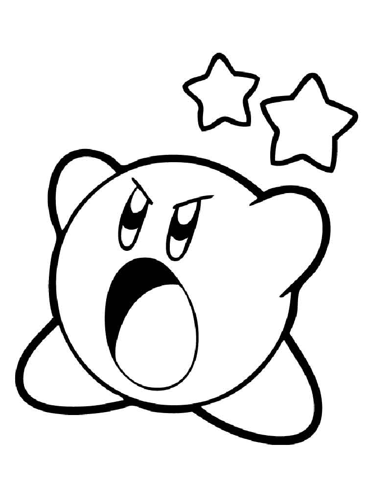 printable coloring pages kirby kirby coloring pages coloring pages for kids coloring pages kirby printable
