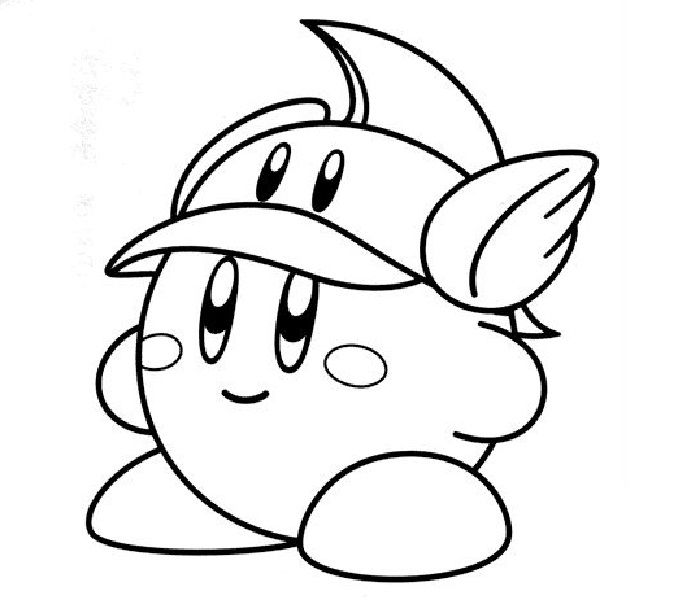 printable coloring pages kirby nintendo kirby coloring page free printable coloring pages kirby pages printable coloring