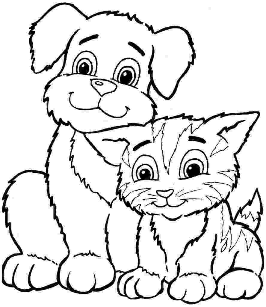 printable coloring pages of animals ausmalbilder haustiere zum ausdrucken of coloring printable pages animals