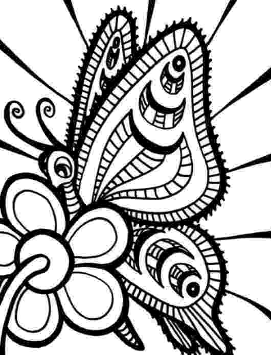 printable coloring pages of flowers and butterflies butterflies and flowers coloring pages getcoloringpagescom butterflies of flowers and pages printable coloring