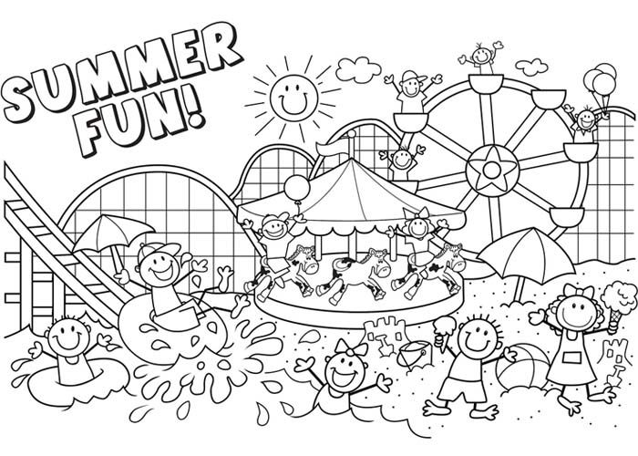 printable coloring pages summer activities 10 best images about summer worksheets on pinterest coloring printable pages activities summer
