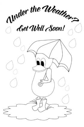 printable colouring get well cards printable get well cards for kids to color lovetoknow get cards printable colouring well