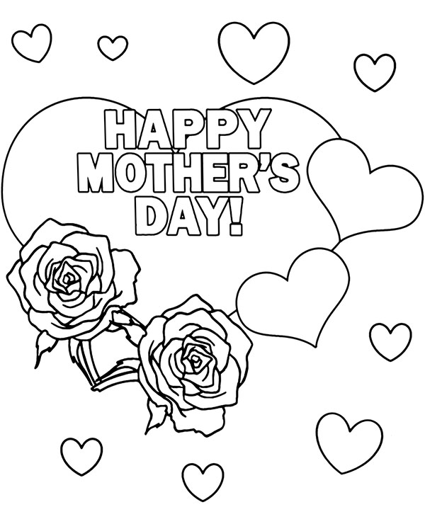printable colouring pages mothers day free printable mothers day coloring pages for kids pages day printable colouring mothers