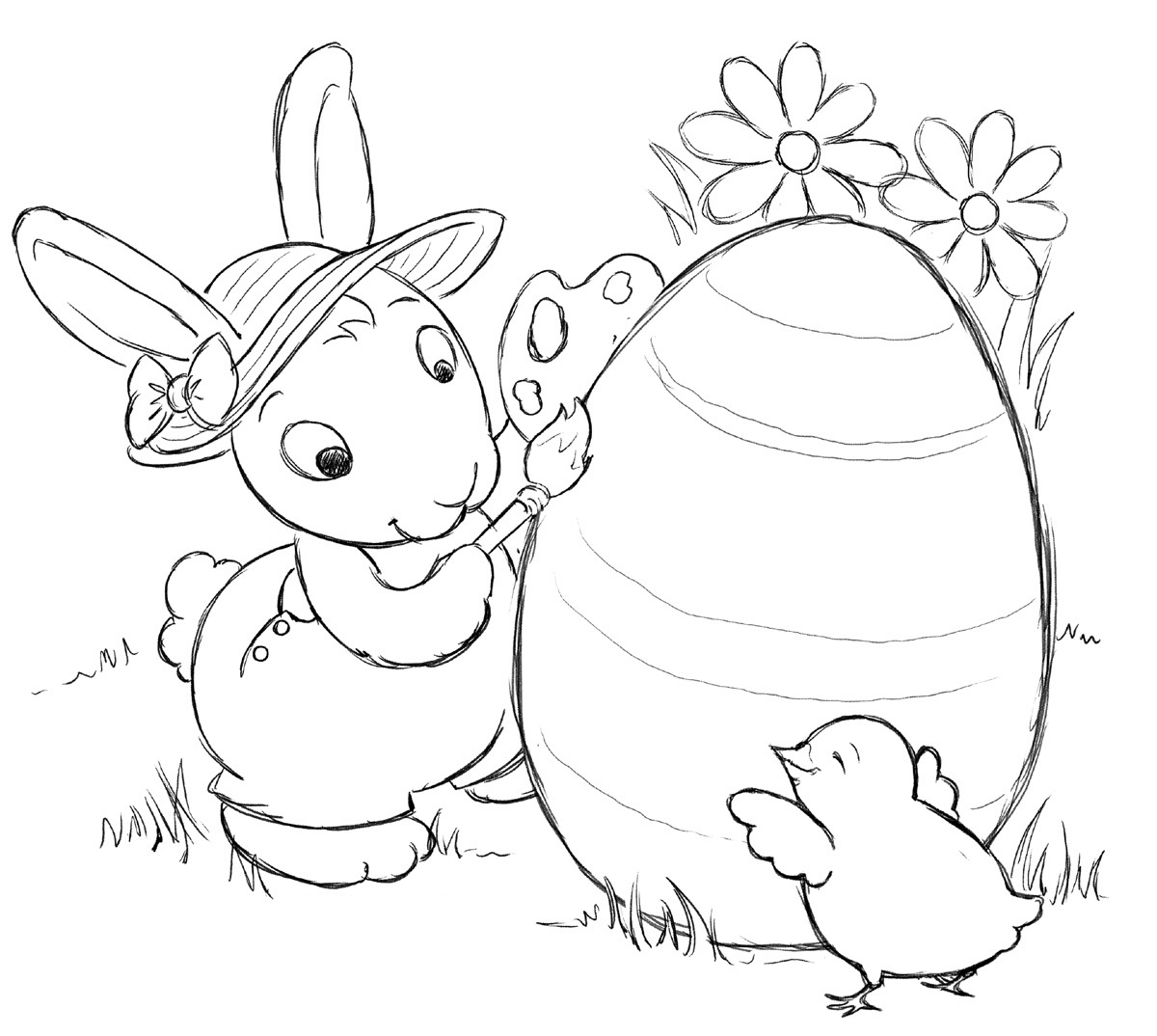 printable easter coloring pages for toddlers bddesigns 3 free coloring pages for easter kleurplaat toddlers easter for coloring printable pages