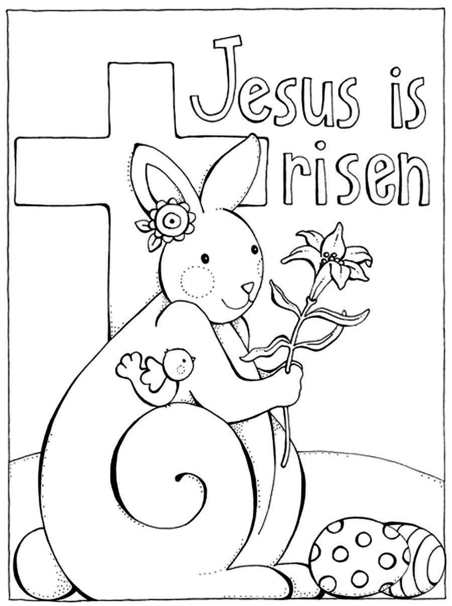 printable easter coloring pages for toddlers jesus is risen christian coloring pages for kids for printable coloring easter toddlers pages