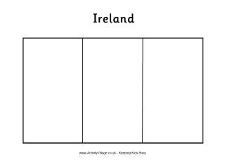 printable flag of ireland ireland flag printables st pat39s day pinterest flag of ireland printable