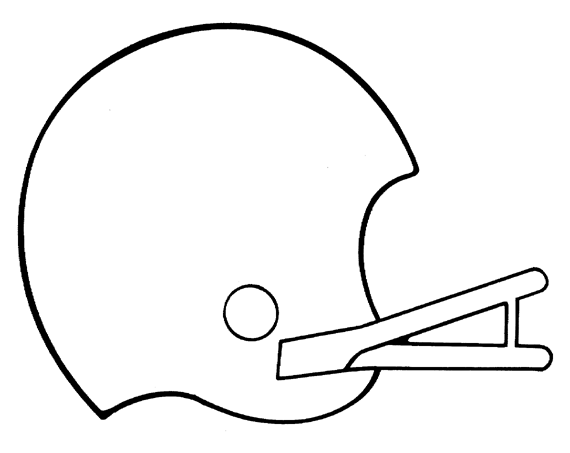 printable football pictures football side coloring page sports pictures printable football