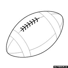printable football pictures football stencil printable clipart best pictures printable football