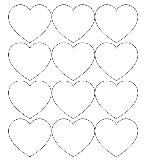 printable images of valentine hearts filevalentines day hearts alphabet blank1 at coloring hearts valentine printable images of