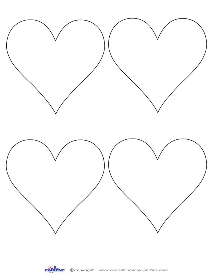 printable images of valentine hearts printable heart shapes tiny small medium outlines printable valentine images hearts of