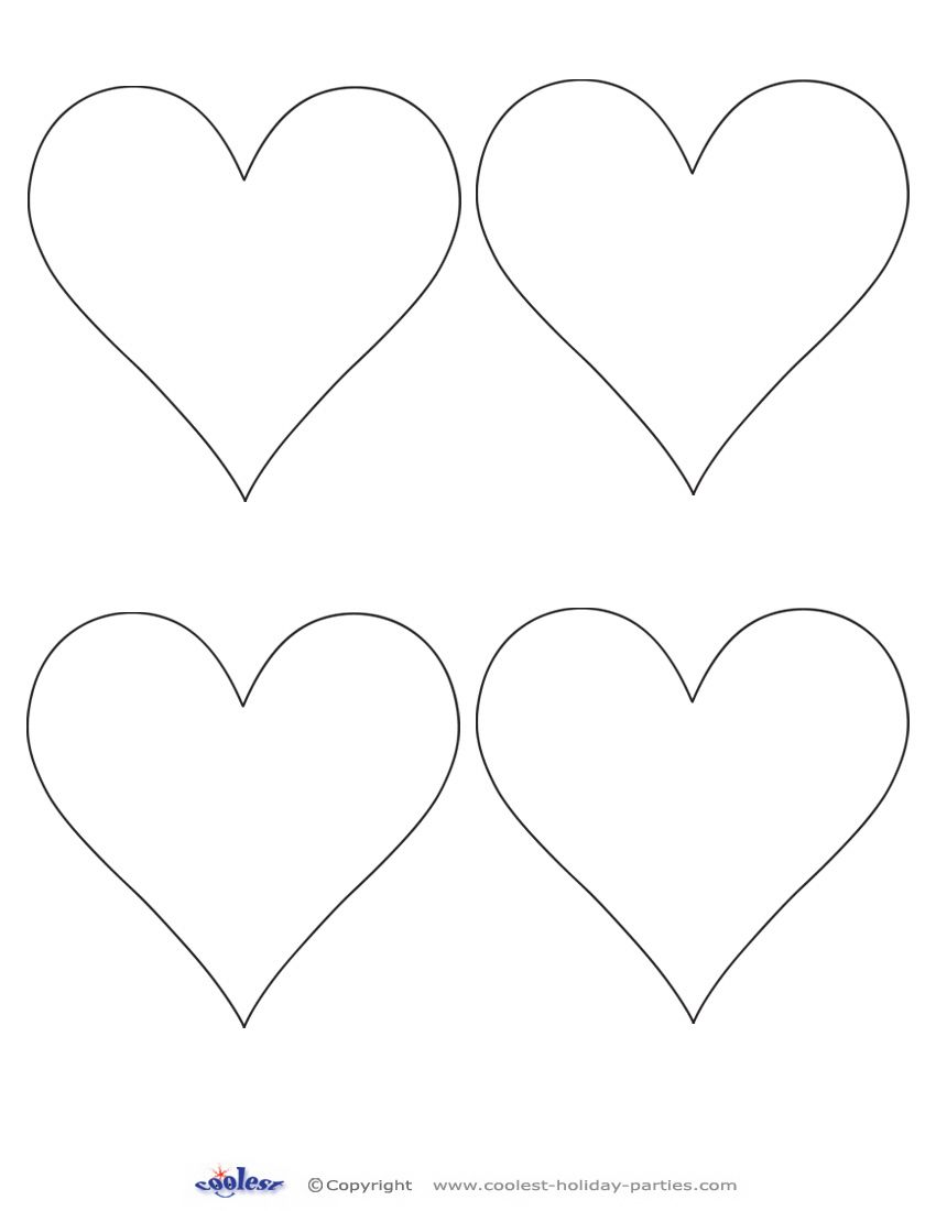 printable images of valentine hearts printable valentine day hearts heart template of hearts printable valentine images