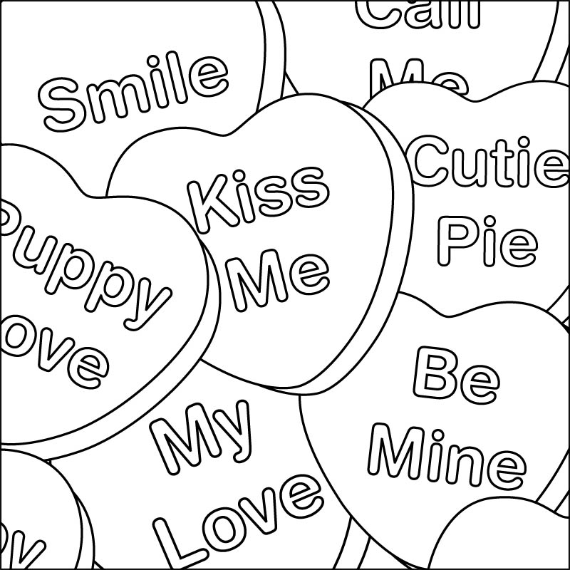 printable images of valentine hearts valentines heart coloring pages of printable hearts valentine images
